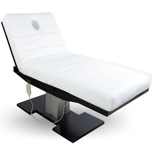 Massageliege 050873 schwarz/weiß