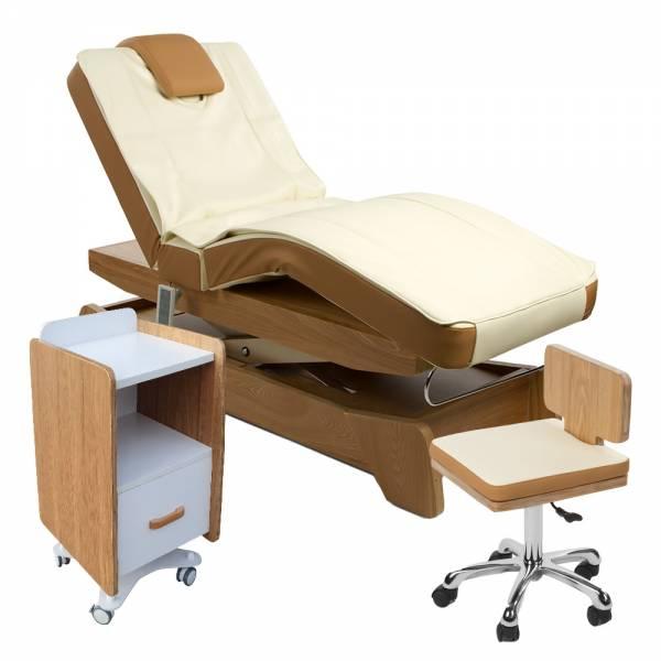 901208 Massagekabine creme / braun