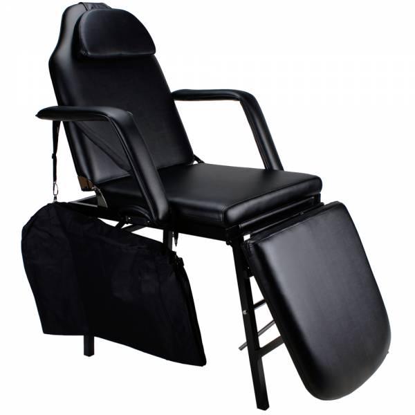 Tragbarer Tattoo-Stuhl / Kosmetikliege 105261b schwarz