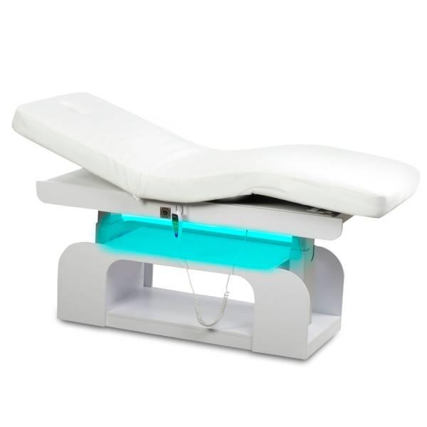 000847 LED Massageliege Wellnessliege mit Heizung