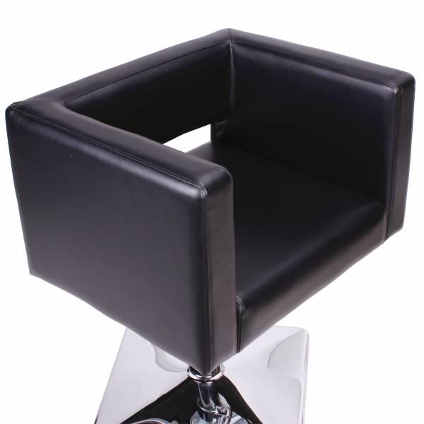 Friseurstuhl 205475 schwarz