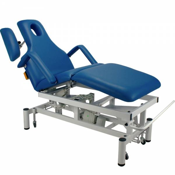 vollelektrische Behandlungsliege 073707 blau