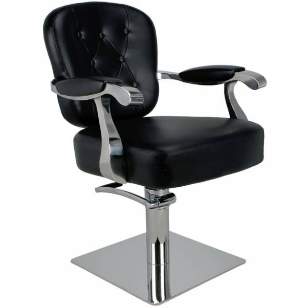 205504 Friseurstuhl schwarz