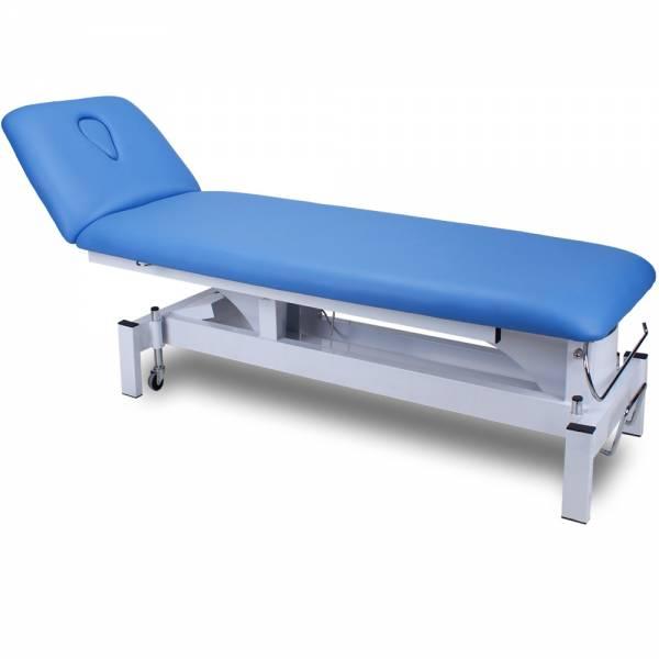 2301 Therapieliege Behandlungsliege mit Rundumschalter, Fußschalter, Handbedienung