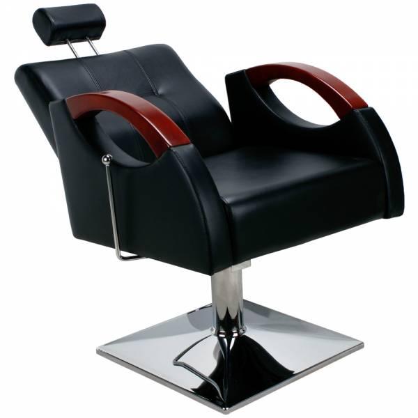 Friseurstuhl 205485A schwarz