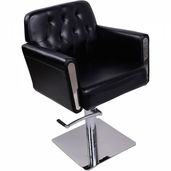 Friseurstuhl 205486 schwarz
