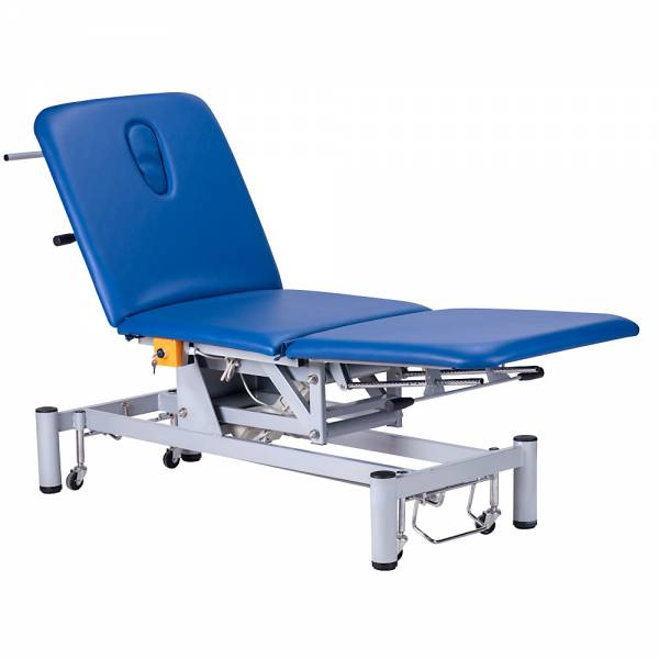 Elektrische / Mechanische Behandlungsliege 073703 blau