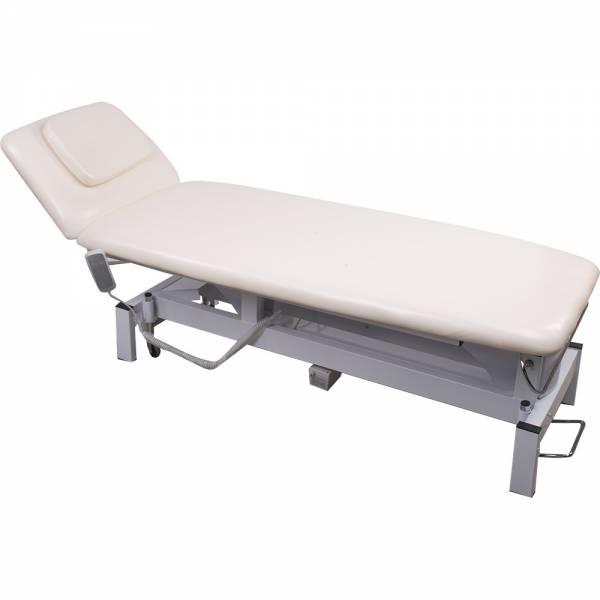 012301 elektrische Behandlungsliege creme