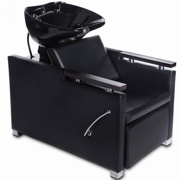 Friseurwaschsessel 255133f schwarz