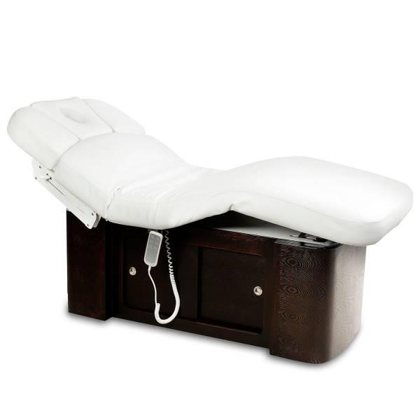 Massageliege 050899 braun/weiß