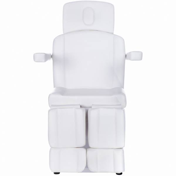 126207bn vollelektrischer Fußpflegestuhl weiß
